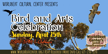 Birds and Arts Celebration tickets
