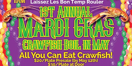 Its Mardi Gras in May @Daylight Donuts (Crawfish Boil, Gator Grill, Gumbo) tickets