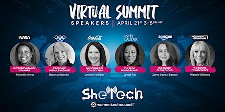 SheTech Virtual Summit for WTC Community tickets