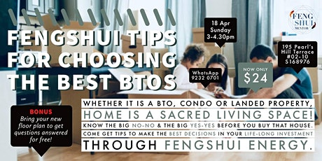 Fengshui Tips for Choosing the Best BTOs tickets