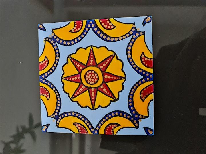 Ceramic Tile Painting workshop image