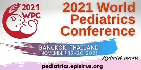 2021 World Pediatrics Conference tickets