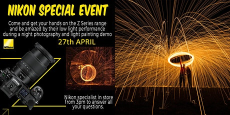 Nikon Z Touch and Try Event, Night Photography & Light Painting. tickets