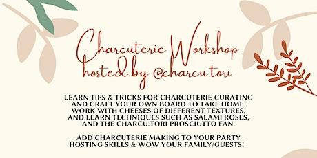 *IN PERSON* Charcuterie Workshop tickets