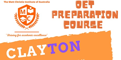 OET Preparation Course Clayton tickets
