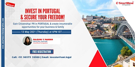 FREE Webinar: Invest in Portugal & Secure your Freedom! tickets