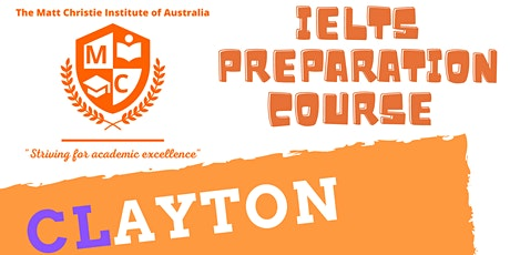 IELTS Preparation Clayton tickets