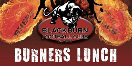 Blackburn Football Club - BURNERS LUNCH # 1 - Saturday 5th June 2021 tickets