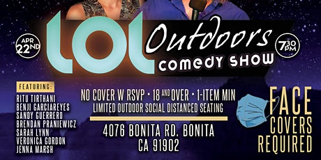 LOL Outdoors Comedy  @ Andale! : 4/22 at 7:25 pm tickets