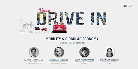 DRIVE-IN : Mobility & Circular Economy entradas
