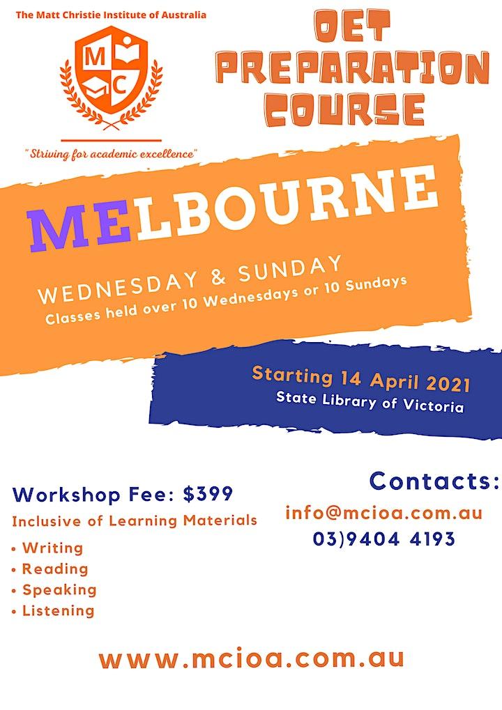 OET Melbourne 10 Week Challenge image