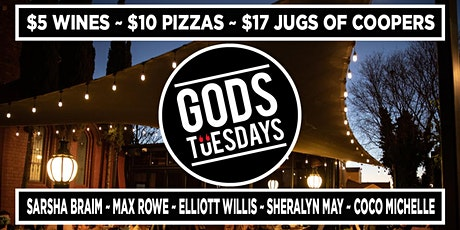Gods Tuesdays - May 4th tickets