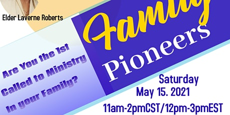 Family Pioneers Tickets