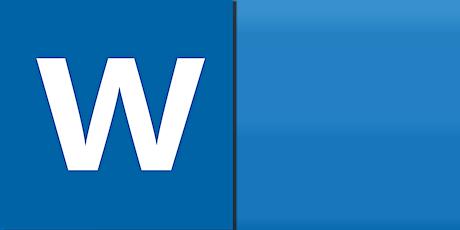 MS Word Basics - Saturday class tickets