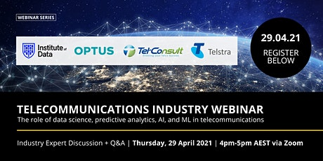 Telecommunications Industry Webinar APAC - 29 April 2021 tickets