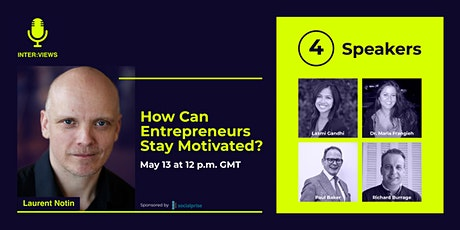 How Can Entrepreneurs Stay Motivated? tickets