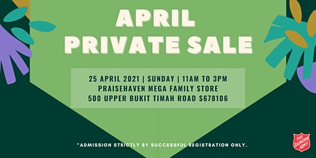 The Salvation Army Private Sale tickets