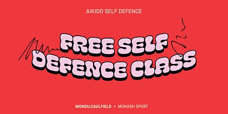 Free Self Defence Class tickets