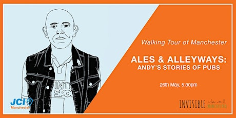 Invisible (Manchester) Walking Tour - Ales & Alleyways tickets