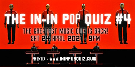 The In-In Pop Quiz - April 2021 tickets