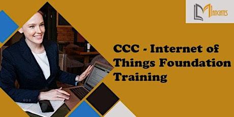 CCC - Internet of Things Foundation 2 Days Training in Ann Arbor, MI tickets