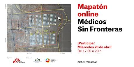 Mapatón 'online' de Médicos Sin Fronteras entradas
