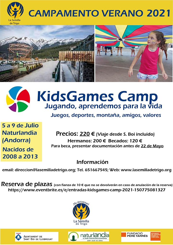Imagen de KidsGames Camp 2021