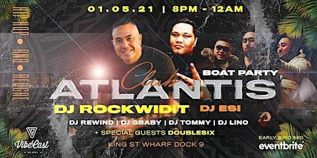 Club Atlantis - Sydney's Hottest RnB Cruise tickets