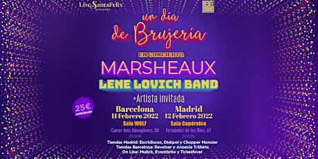 Un día de Brujería. Marsheaux + Lene Lovich Band + Artista invitada entradas