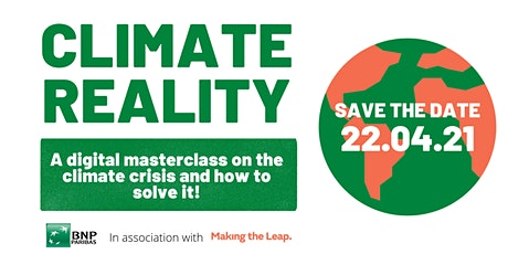 Climate Reality – The Climate Crisis and How to Solve it! tickets