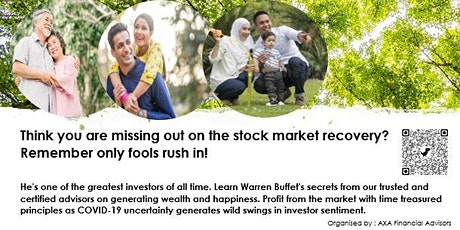 Warren Buffet's Investing Masterclass tickets