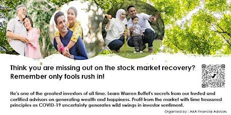 Warren Buffet's Investing Masterclass tickets