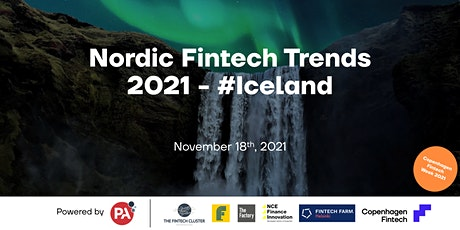 Nordic Fintech Trends 2021 - #Iceland tickets