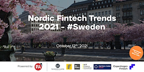 Nordic Fintech Trends 2021 - #Sweden tickets