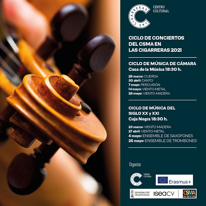 Imagen de Recital Alumnos/as del Departamento de Viento-Madera del CSMA