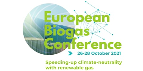 European Biogas Conference 2021 billets