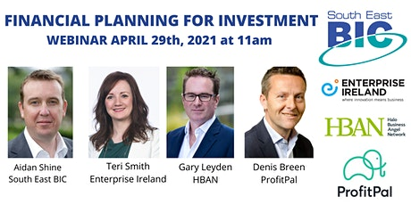 Financial Planning for Investment: Startups & ScaleUps tickets