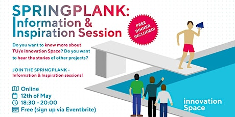 Springplank - Information & Inspiration session tickets
