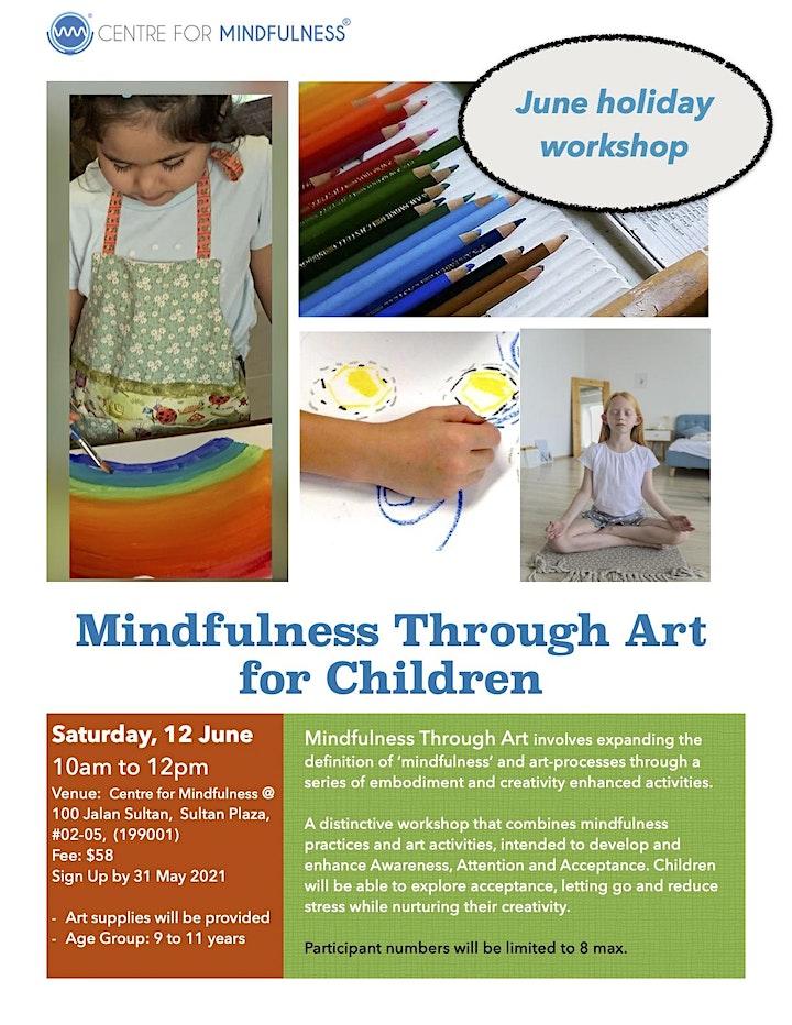 Mindfulness Through Art for Children (June) image