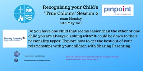 """OA Workshop Recognising Your Childs """"True Colours"""" Session 2 tickets"""