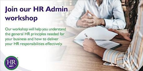 Management Essentials: HR Admin tickets
