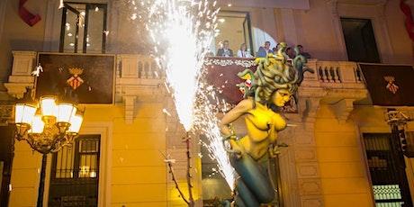 Actuació de bèsties de Foc i colles de foc infantils entradas