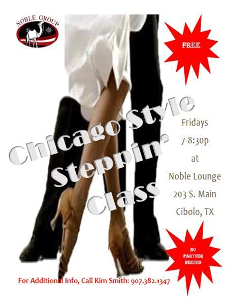 Free Dance Class: Chicago-Style Steppin' image