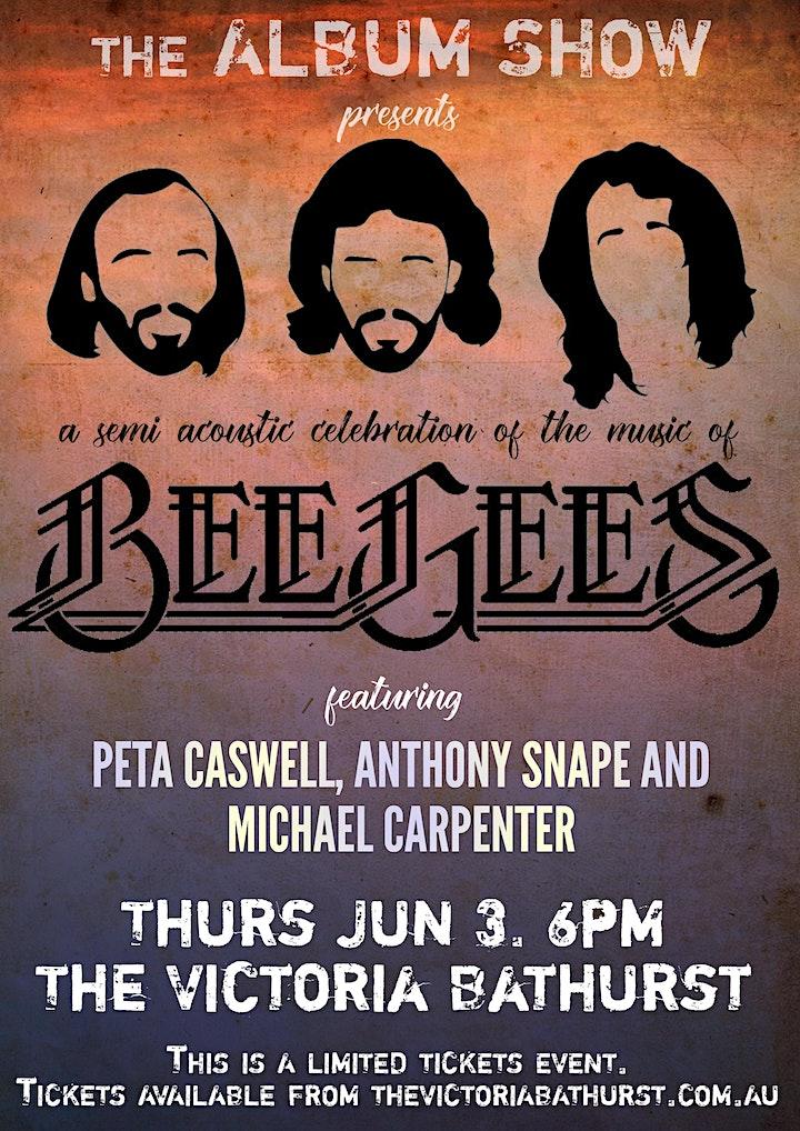 Bee Gee's - Classic Album Night. SHOW 2:  26/8/21 image