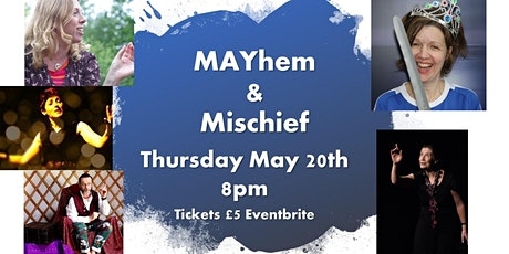 MAYhem and Mischief tickets