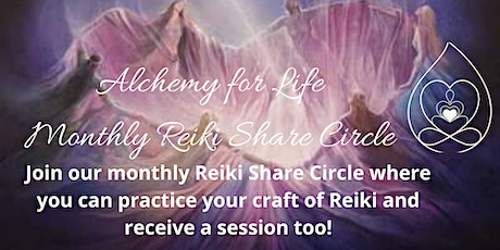 Reiki Share Circle tickets