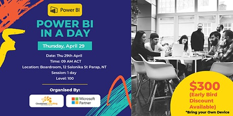 Darwin Power BI in a Day (Foundation) tickets