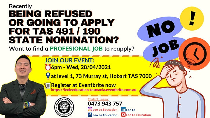 Being refused  or  Going to apply  for TAS 491/190 state nomination? image