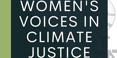 Women's Voices in Climate Justice tickets