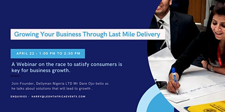 Growing your business through last mile delivery tickets
